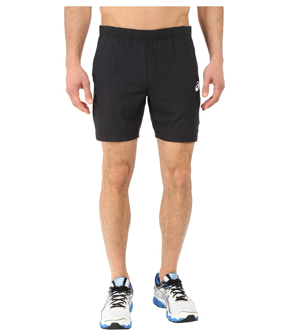 ASICS Club Woven Shorts 7in (Performance Black) Men