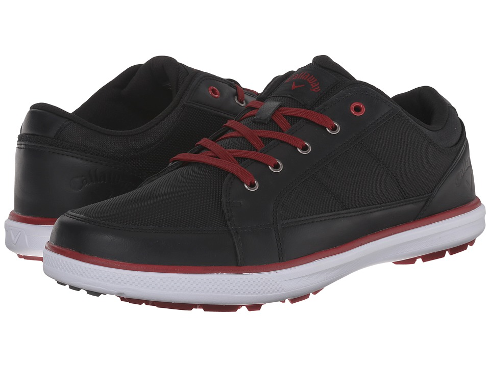 Callaway Del Mar Ballistic (Black/Black/Crimson) Men
