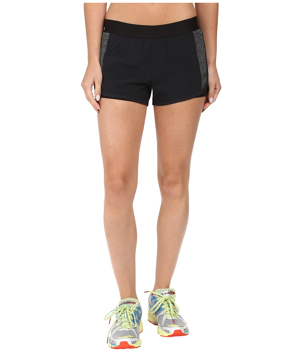 New Balance - Petal Performance Shorts (Black) Women's Shorts