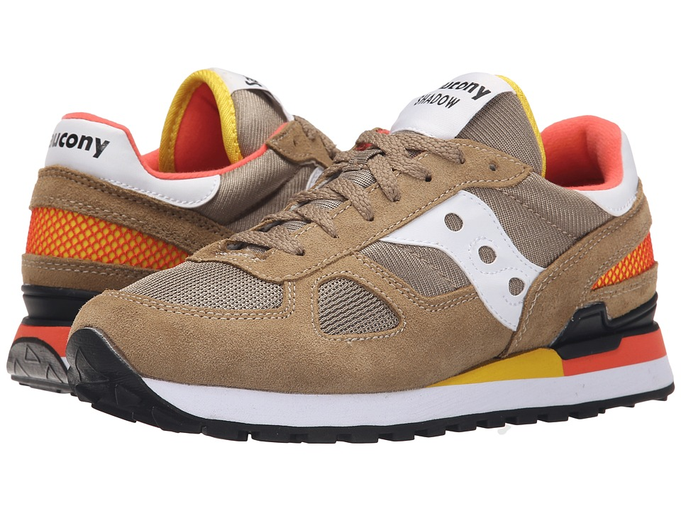 Saucony Originals - Shadow Original (Tan/Yellow/Orange) Women's Classic Shoes