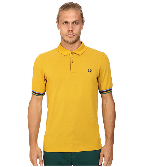 Fred Perry - Champion Tipped Shirt (Mustard) Men
