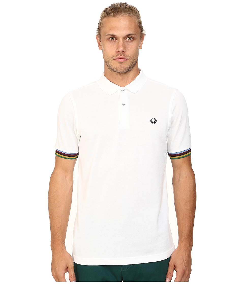 Fred Perry - Champion Tipped Shirt (White) Men