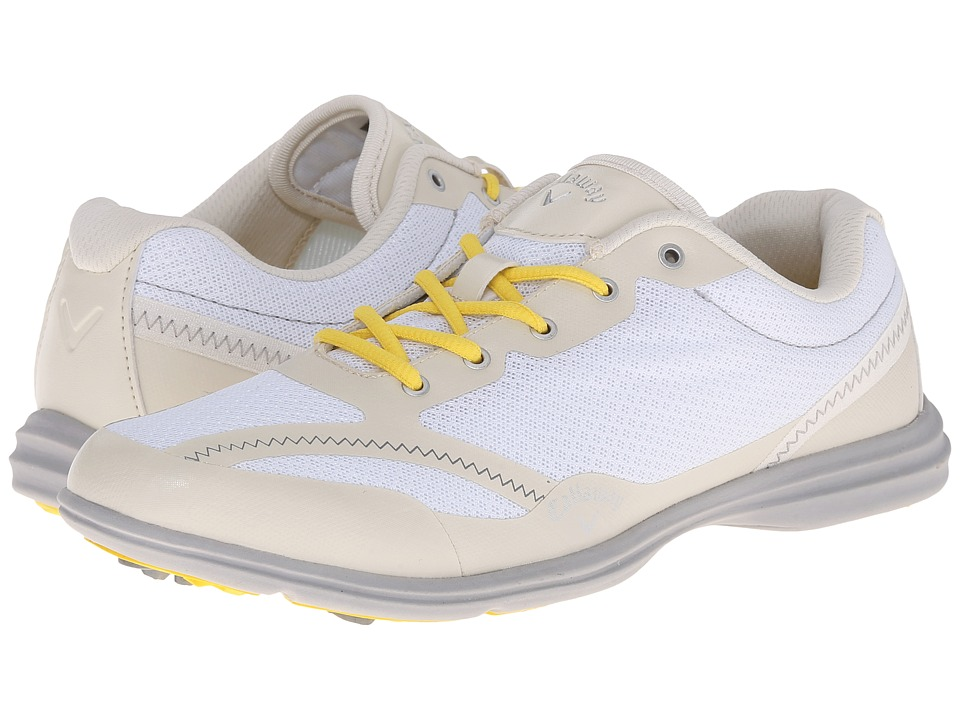 Callaway - Solaire (White/Bone) Women's Golf Shoes