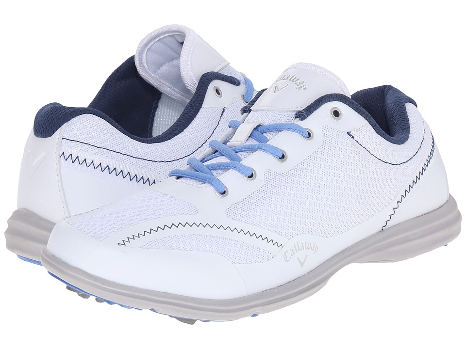 Callaway - Solaire (White/Navy/Blue) Women's Golf Shoes