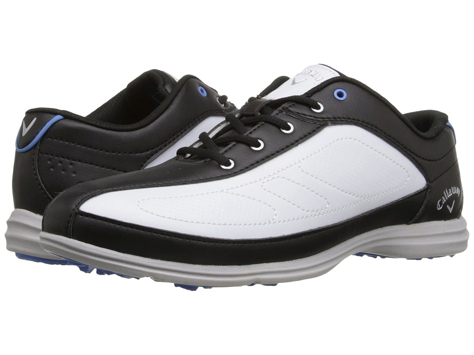 Callaway - Cirrus (White/Black) Women's Golf Shoes