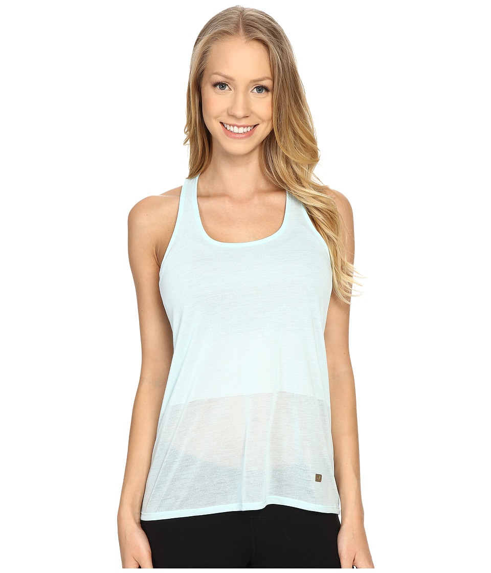 ASICS - Burnout Tank Top (Crystal Blue) Women's Sleeveless