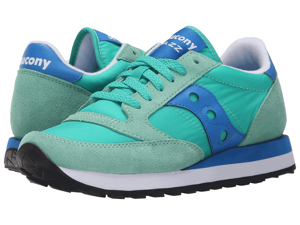 Saucony Originals - Jazz Original (Light Green/Blue) Women's Classic Shoes