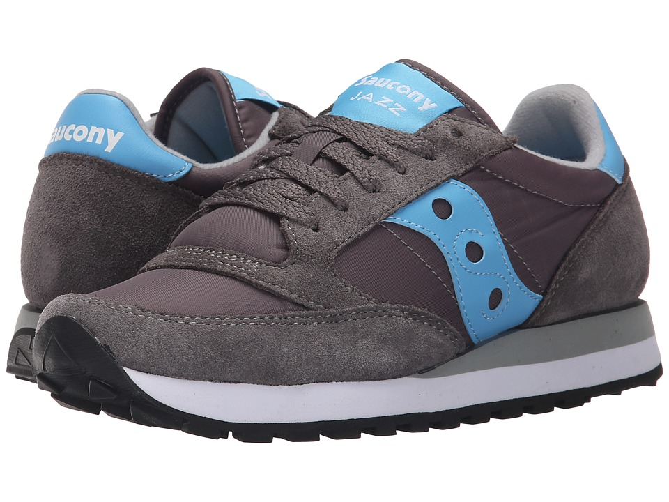 Saucony Originals - Jazz Original (Charcoal/Blue) Women's Classic Shoes