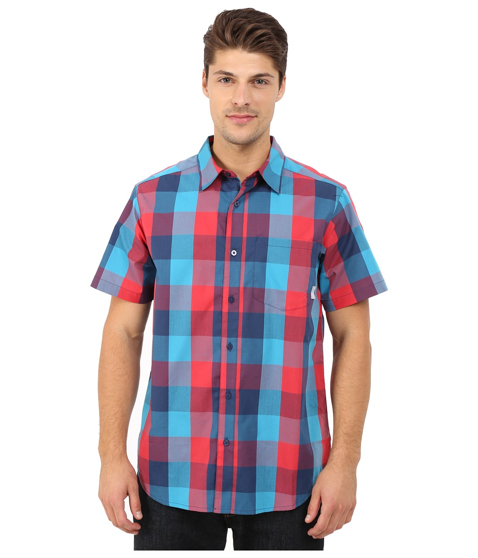 Columbia - Hyco Creek EXS Shirt (Carbon) Men's Short Sleeve Button Up