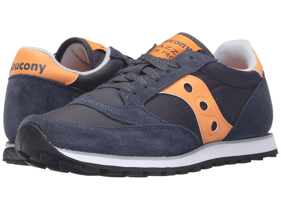 Saucony Originals - Jazz Low Pro (Dark Navy/Melon) Women's Classic Shoes