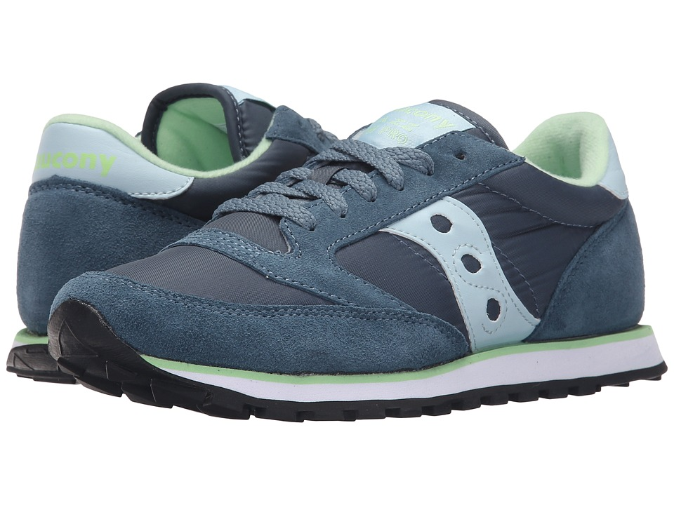 Saucony Originals - Jazz Low Pro (Blue Grey/Light Blue) Women's Classic Shoes