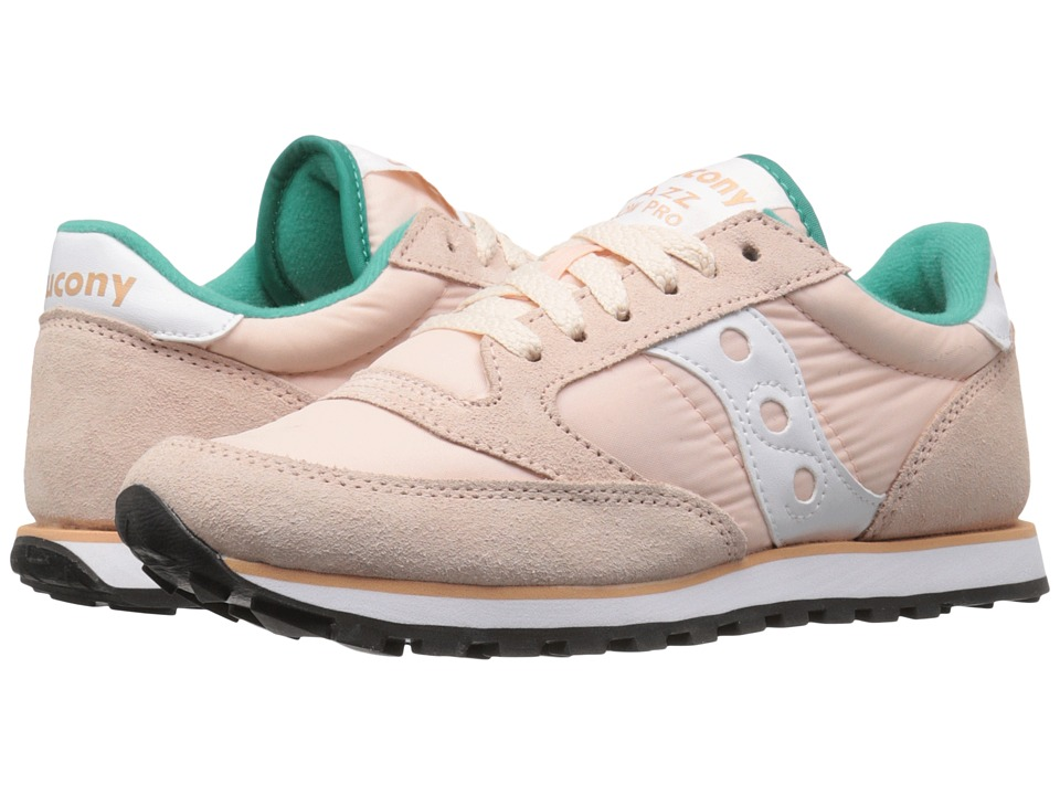 Saucony Originals - Jazz Low Pro (Light Peach) Women's Classic Shoes