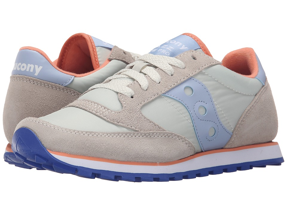 Saucony Originals - Jazz Low Pro (Off White/Blue) Women's Classic Shoes