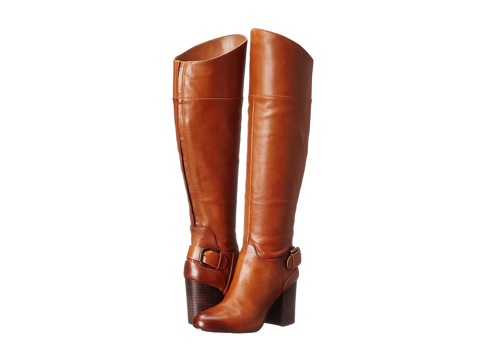 Vince Camuto - Sidney Wide Shaft (Warm Brown 1) Women