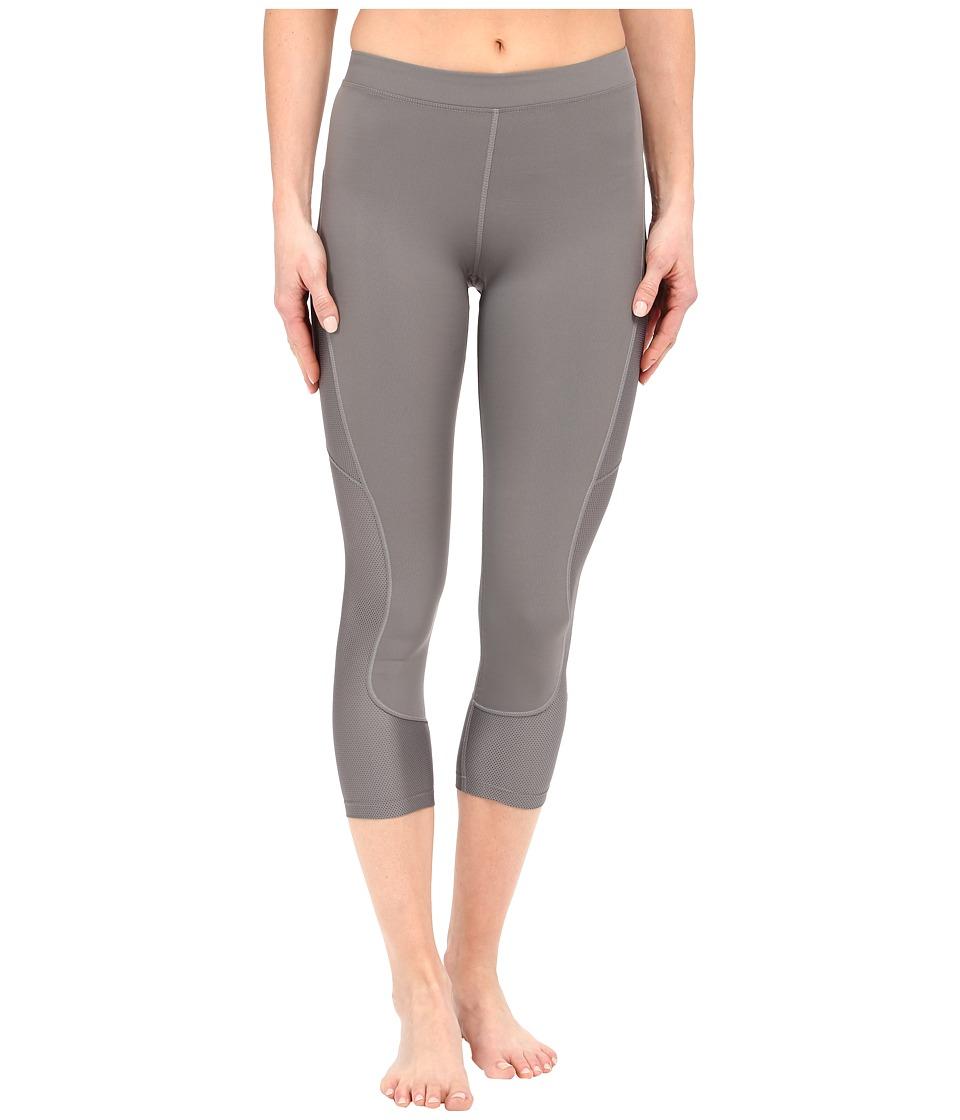 ASICS - Studio Crop Tights (Shark) Women's Casual Pants