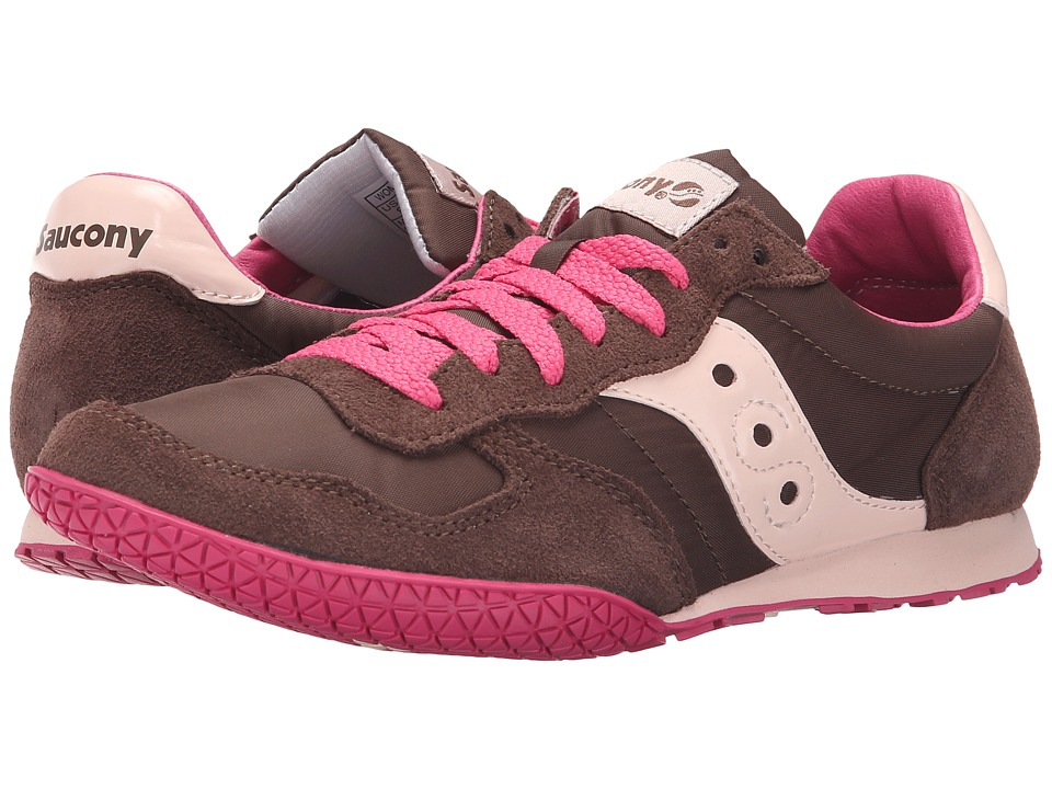 Saucony Originals - Bullet (Brown/Pink) Women's Classic Shoes