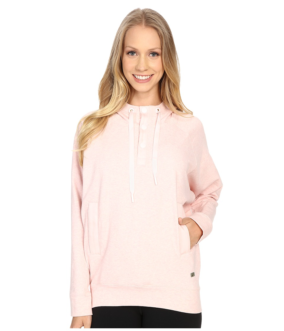 ASICS - Terry Pullover Hoodie (English Rose) Women's Sweatshirt