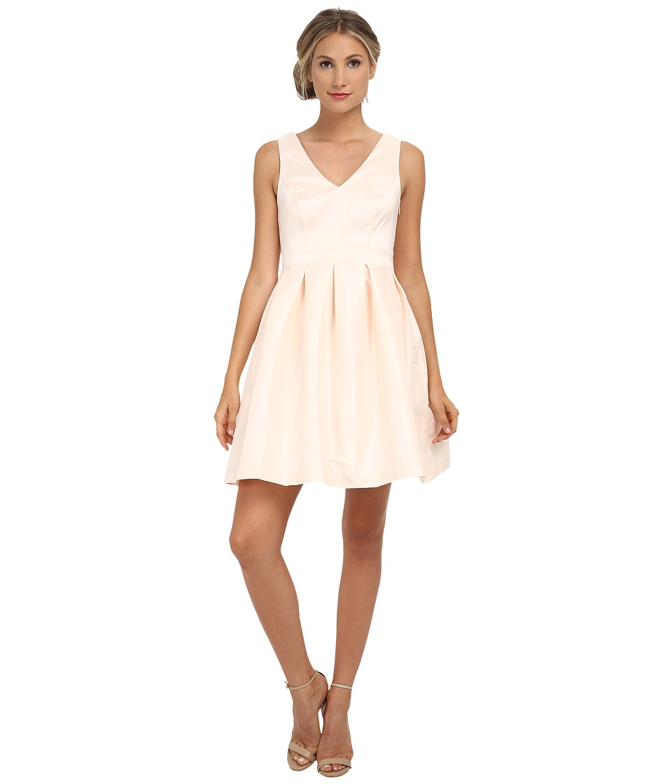 Jessica Simpson - Taffeta Fit Flare Dress (Blush) Women's Dress