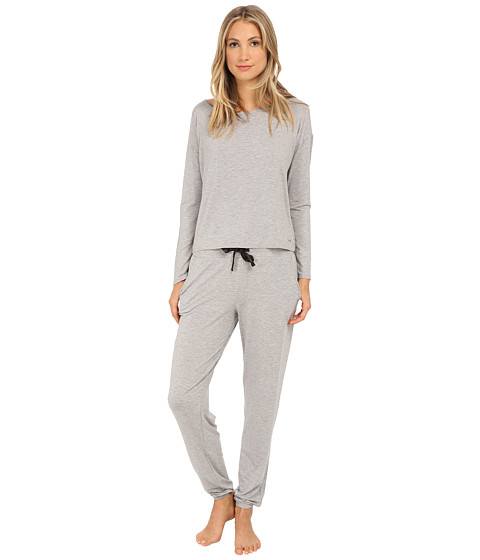 Calvin Klein Underwear - Sporty Lounge Gift Set (Grey Heather) Women's Pajama Sets