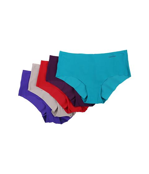 Calvin Klein Underwear - Invisibles 5-Pack Hipster (Breeze/Plum Terry/Classic Indigo/Lunar/Defy) Women's Underwear