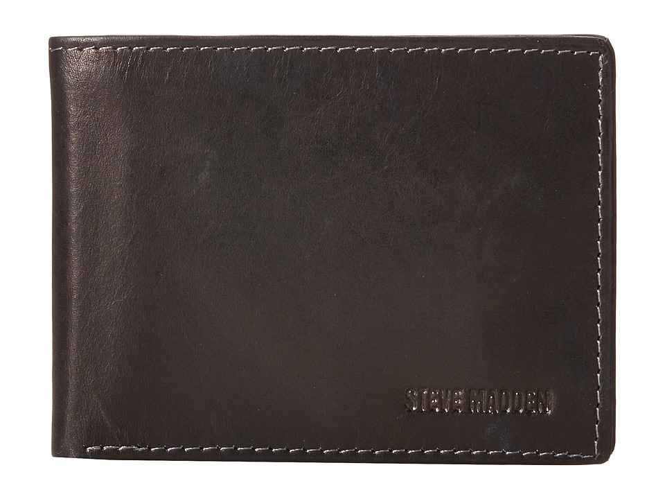 Steve Madden - Two-Tone Passcase (Black) Bags