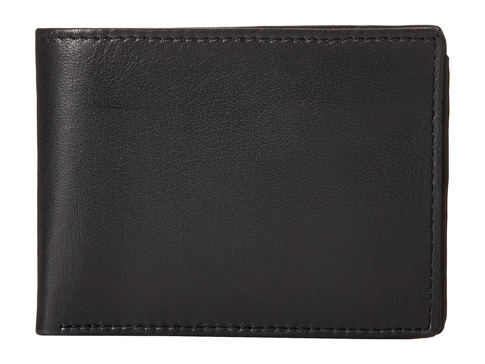 Steve Madden - Smooth Passcase (Black) Bags