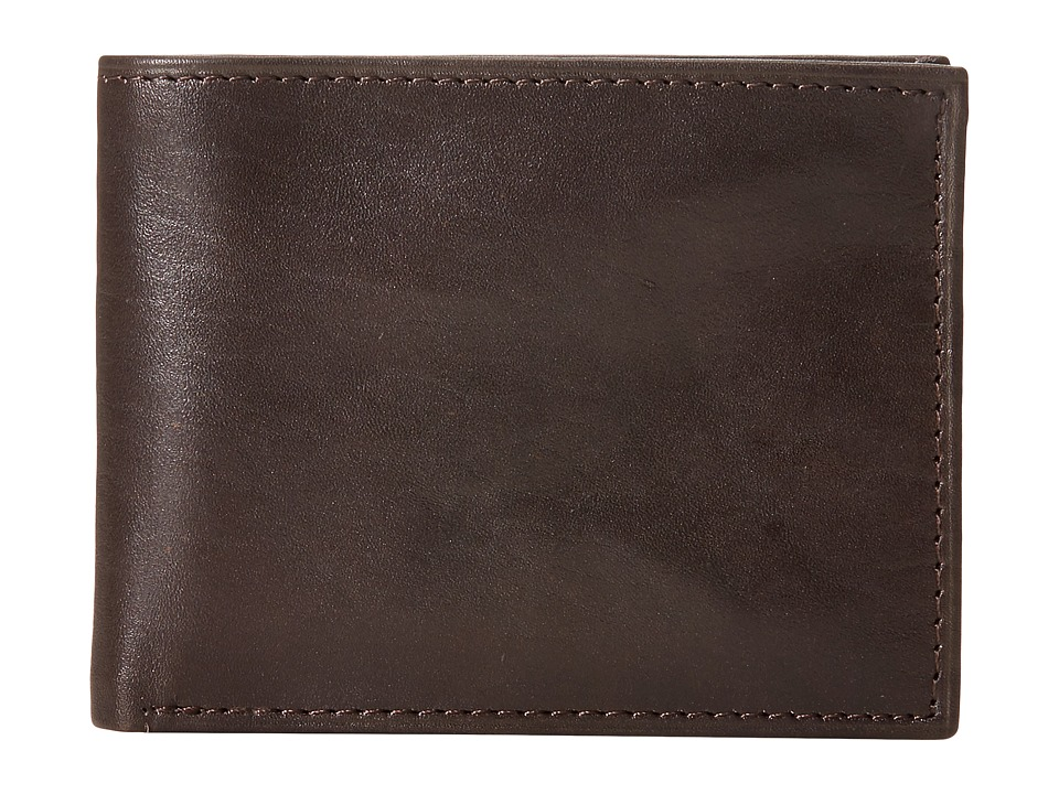 Steve Madden - Smooth Glove Slimfold (Brown) Bags