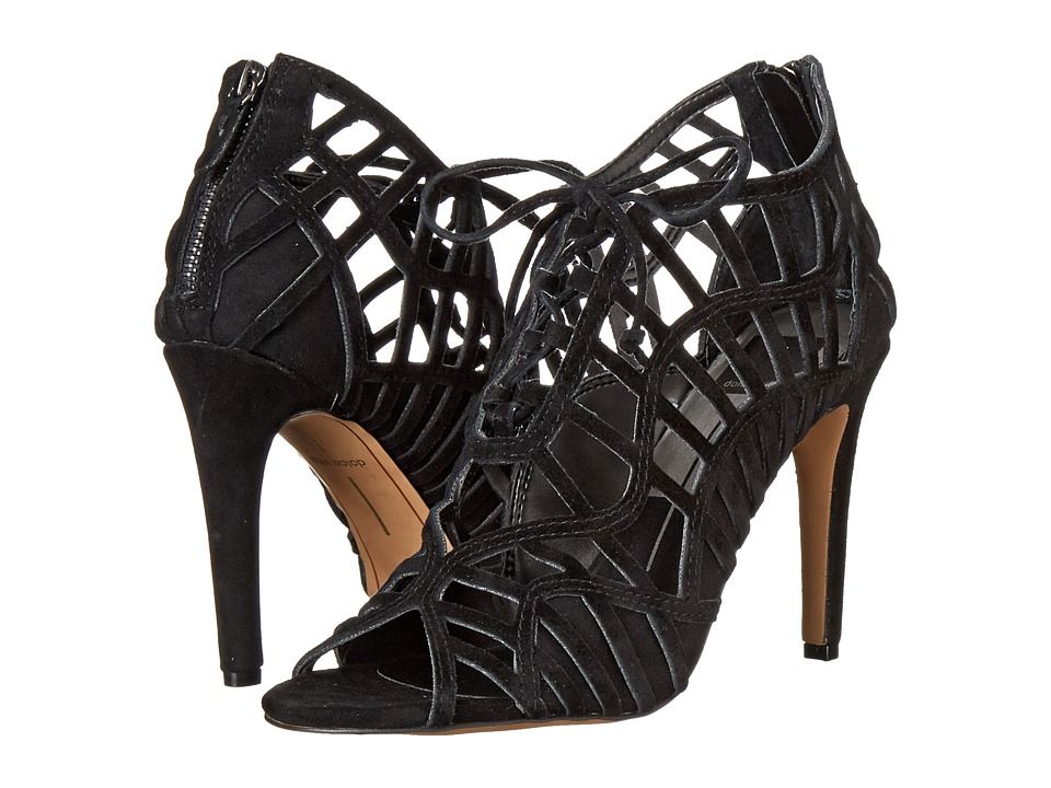 Dolce Vita - Tinlie (Black Suede) High Heels