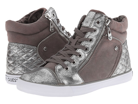 G by GUESS - Onay 2 (Dark Grey/Silver) Women