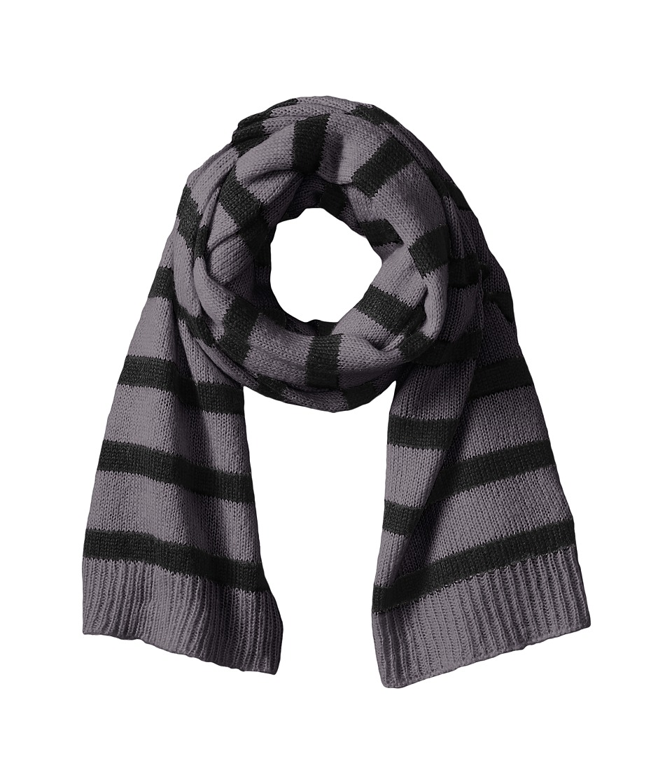 Hat Attack - Stripe Scarf (Grey/Black) Scarves
