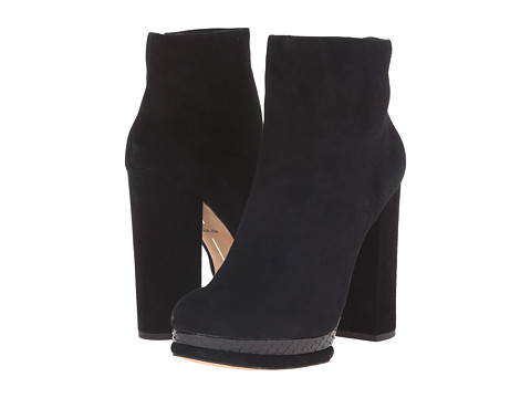 Dolce Vita - Vergo (Black Suede) Women's Shoes