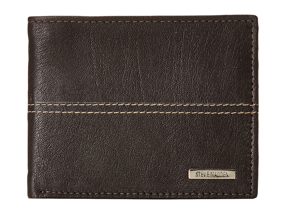 Steve Madden - Center Stitch Passcase (Brown) Bags