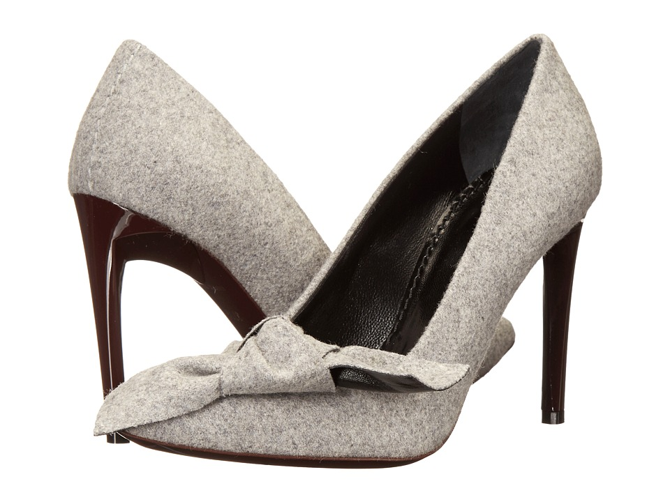 Proenza Schouler - Fabric Bow Pump (Grey) High Heels