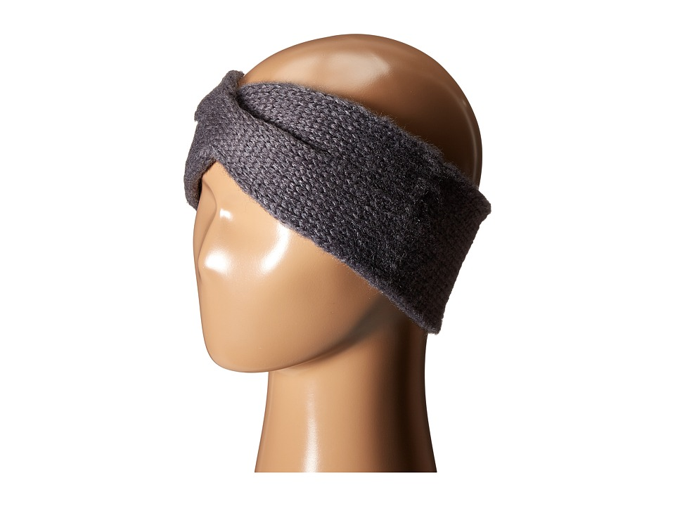 Hat Attack - Twisted Headband (Grey) Headband