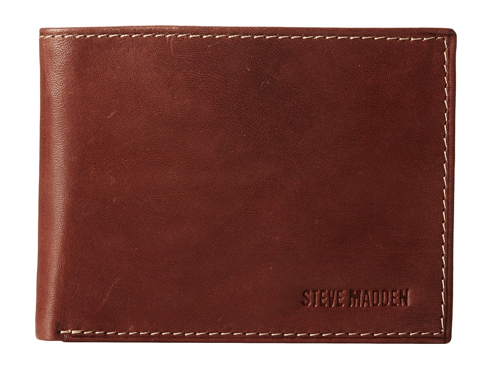 Steve Madden - Two-Tone Passcase (Brown) Bags