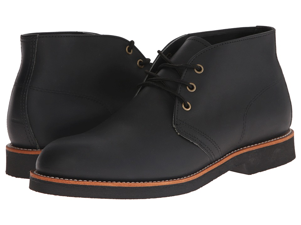 Red Wing Heritage - Foreman Chukka (Black Harness) Men's Lace-up Boots