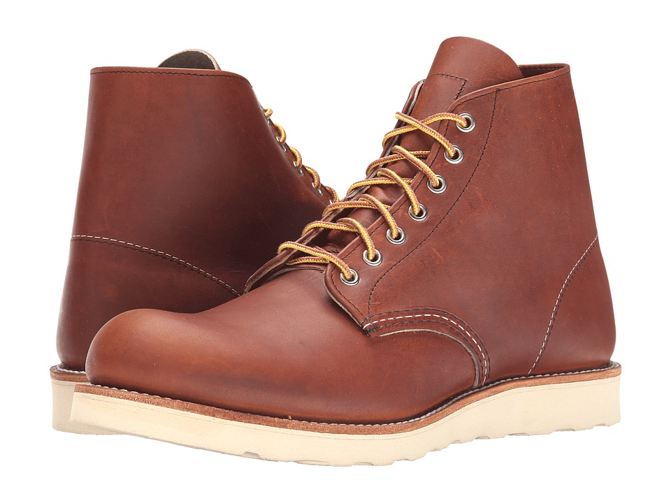 Red Wing Heritage - Classic Work 6 Round Toe (Oro Legacy) Men's Lace-up Boots