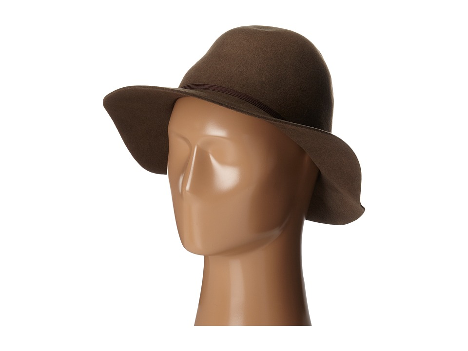 Hat Attack - Water Resistant Felt Hat (Putty) Traditional Hats