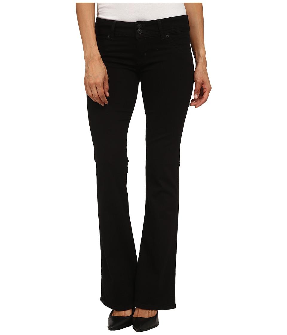 Hudson - Petite Signature Bootcut Jeans in Black (Black) Women