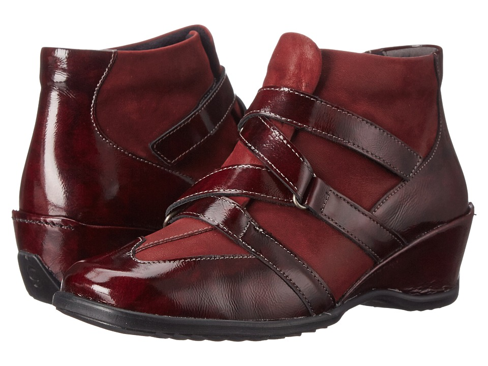 Spring Step - Allegra (Bordeaux) Women's Boots