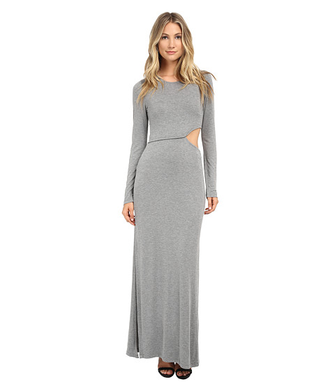 Young Fabulous & Broke - Brooklyn Maxi (Heather Grey) Women's Dress