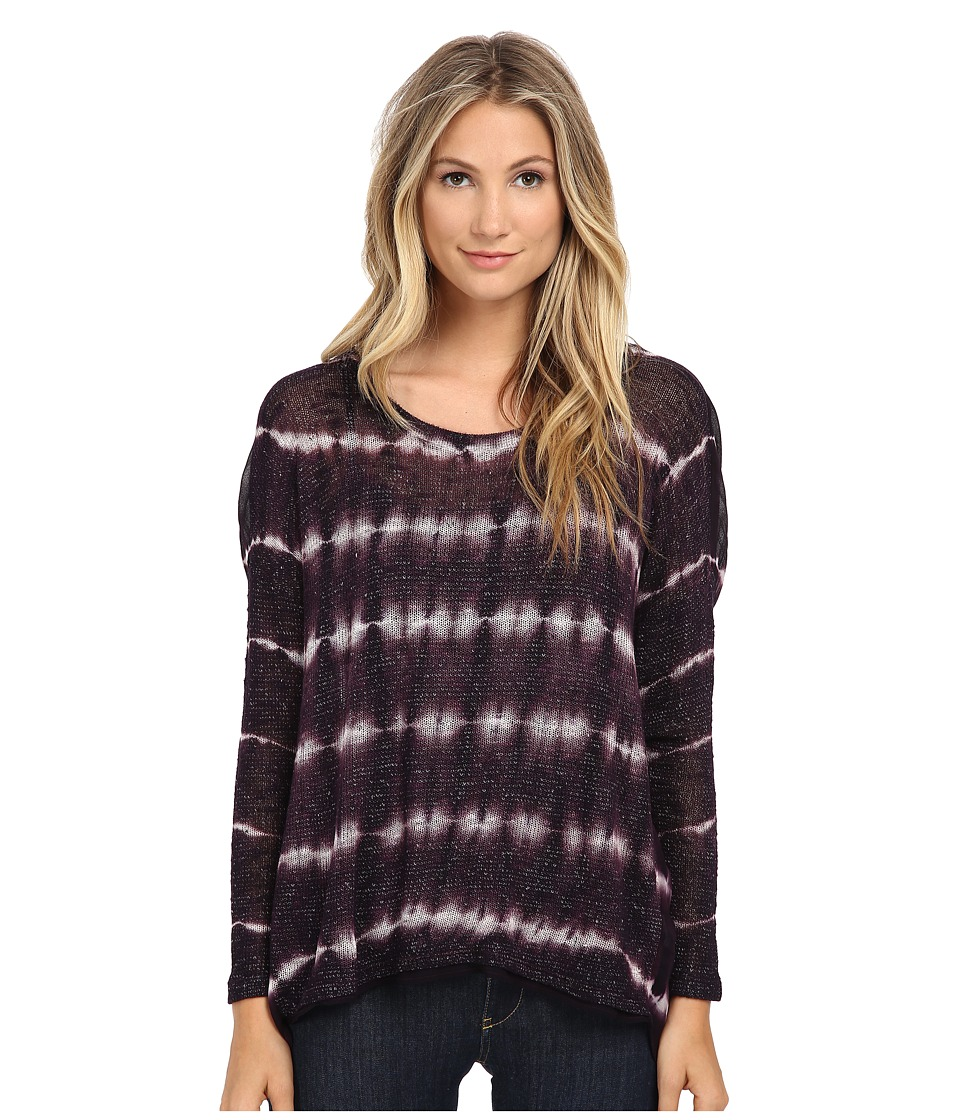 Young Fabulous & Broke - Daria Sweater (Plum Skinny Stripe) Women's Sweater