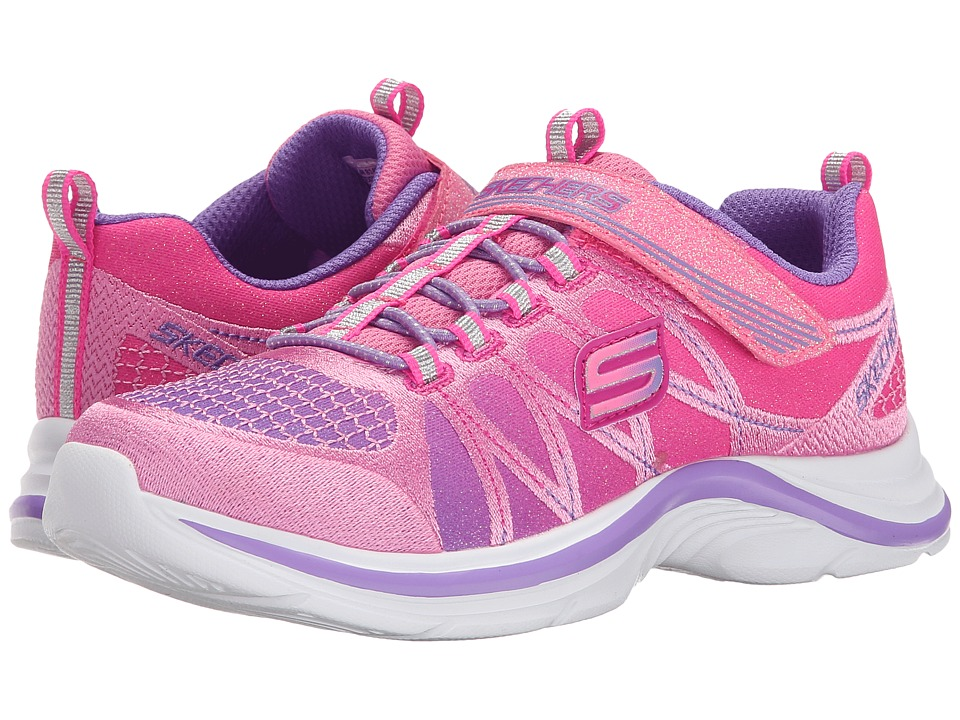 SKECHERS KIDS - Swift Kicks 81494L (Little Kid/Big Kid) (Pink/Lavender) Girl's Shoes