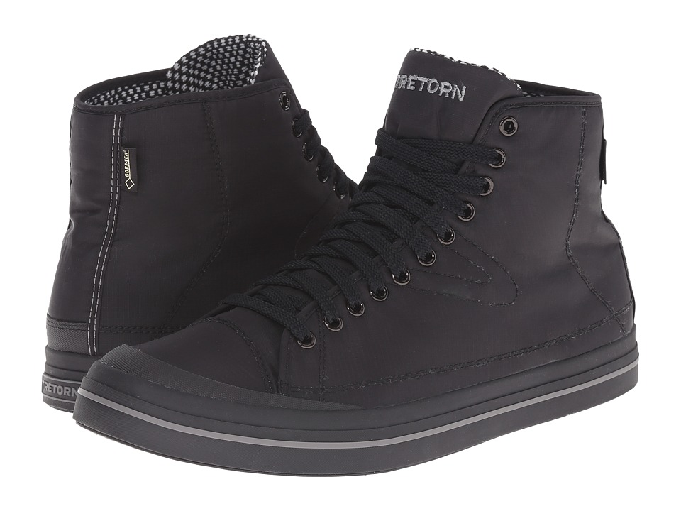 Tretorn - Skymra Court GTX (Black) Men's Shoes