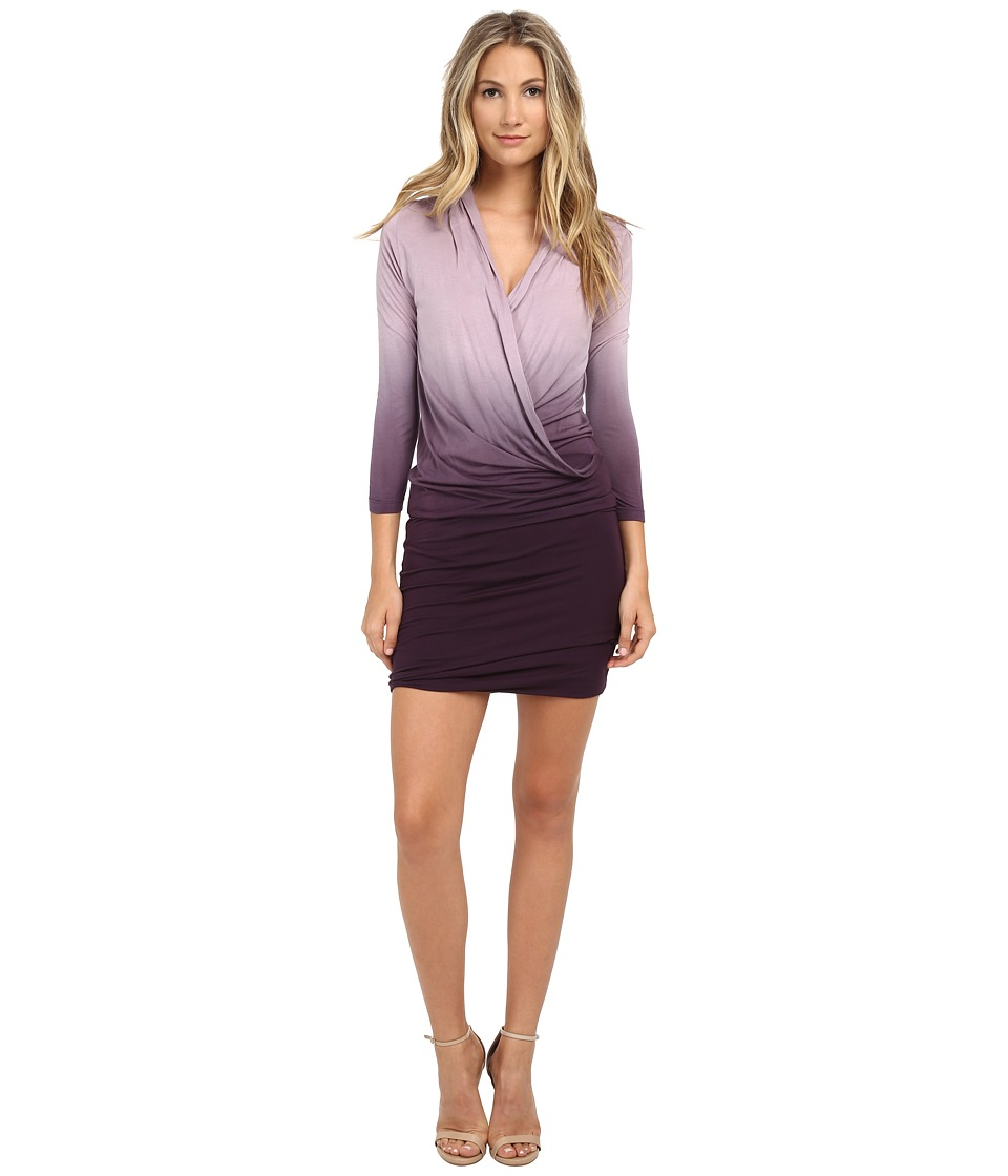 Young Fabulous & Broke - Getty Dress (Plum Ombre) Women's Dress