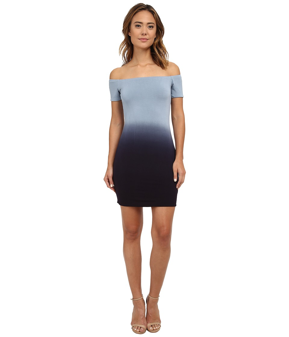 Young Fabulous & Broke - Zoey Dress (Charcoal Ombre) Women's Dress