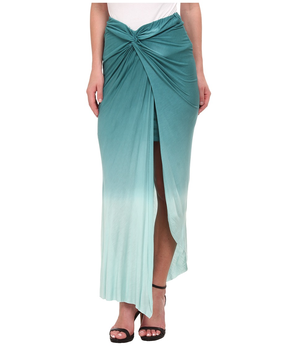 Young Fabulous & Broke - Kulani Skirt (Teal Ombre) Women's Skirt