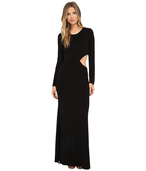 Young Fabulous & Broke - Brooklyn Maxi (Black) Women's Dress