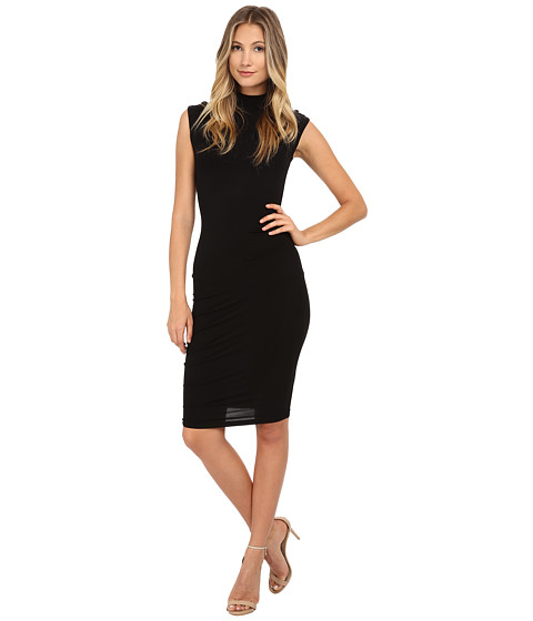 Young Fabulous & Broke - Nora Dress (Black Solid) Women's Dress
