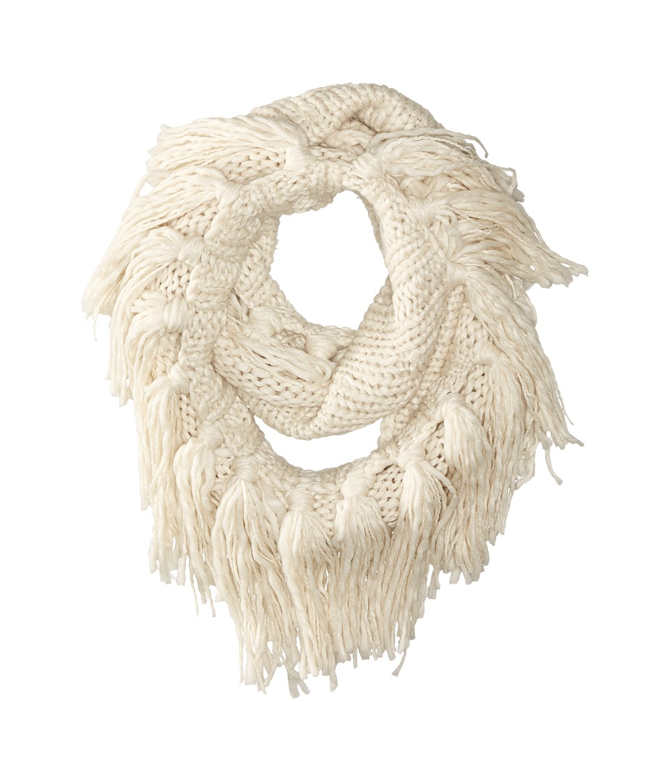 Hat Attack - Fringe Double Loop (Black) Scarves